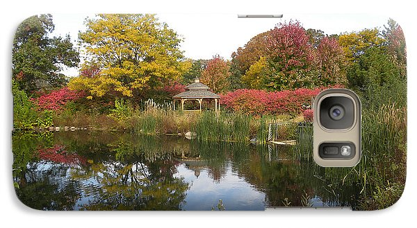 Galaxy Case featuring the photograph Autumn Serenity by Teresa Schomig