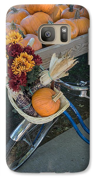 Galaxy Case featuring the photograph Autumn Shopping by Wayne Meyer