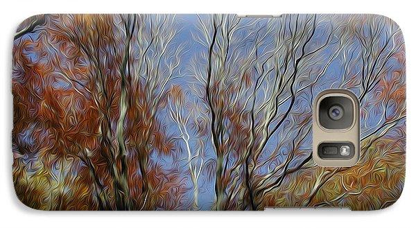 Galaxy Case featuring the digital art Autumn Sky by Kelvin Booker