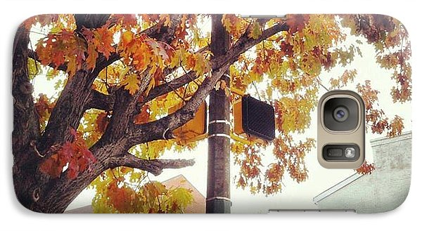 Galaxy Case featuring the photograph Autumn South Charles Street by Toni Martsoukos