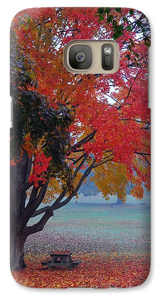 Galaxy Case featuring the photograph Autumn Splendor by Lisa Phillips