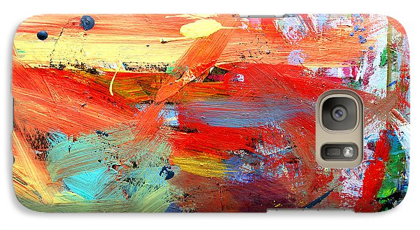 Galaxy Case featuring the painting Autumn by Stacey Zimmerman