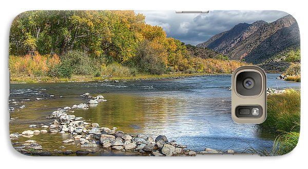 Galaxy Case featuring the photograph Autumn Stance by Britt Runyon