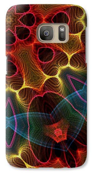 Galaxy Case featuring the digital art Autumn Star by Owlspook