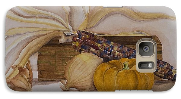 Galaxy Case featuring the painting Autumn Still Life by Rebecca Matthews