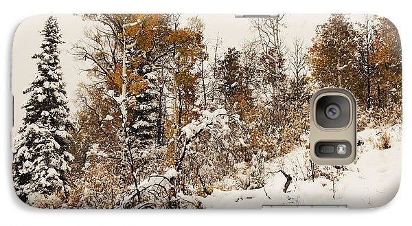 Galaxy Case featuring the photograph Autumn Storm by Daniel Hebard