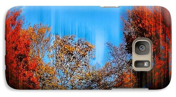 Galaxy Case featuring the photograph Autumn Streak by Glenn Feron