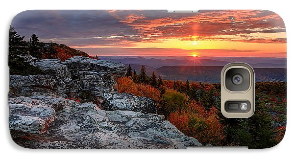 Galaxy Case featuring the photograph Autumn Sunrise At Dolly Sods by Jaki Miller