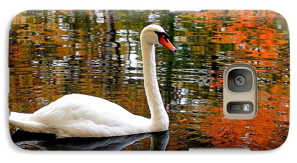 Autumn Swan Galaxy S7 Case by Lourry Legarde