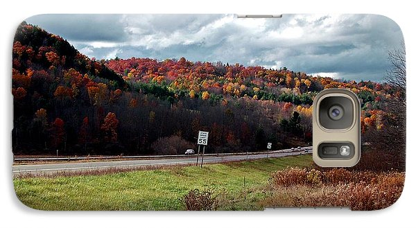 Galaxy Case featuring the photograph Autumn Sweep by Christian Mattison