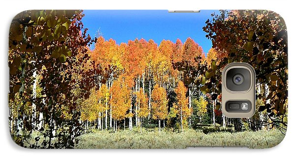 Galaxy Case featuring the photograph Autumn Trees Dixie National Forest Utah by Deborah Moen