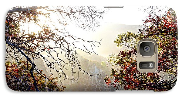 Galaxy Case featuring the photograph Autumn Trees by Kevin Ashley