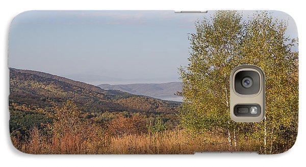 Galaxy Case featuring the pyrography Autumn Vitosha Mountain Bulgaria by Jivko Nakev