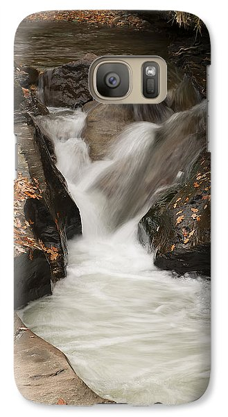 Galaxy Case featuring the photograph Autumn Water by Gouzel -