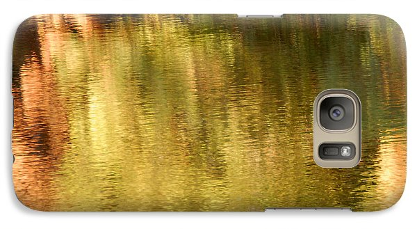 Galaxy Case featuring the photograph Autumn Water by Lee Craig