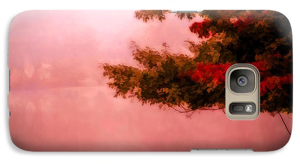 Galaxy Case featuring the photograph Autumns Changing Colors by Mary Timman