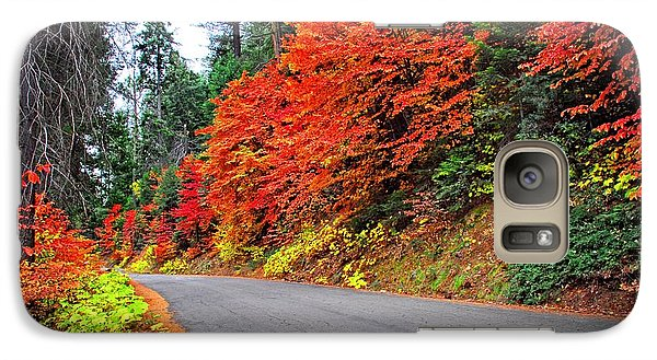 Galaxy Case featuring the photograph Autumn's Glory by Lynn Bauer