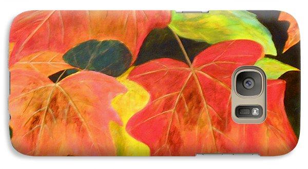 Galaxy Case featuring the painting Autumn's Glow  by Nancy Czejkowski