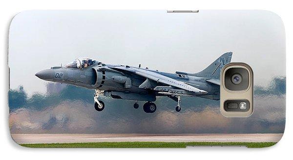 Av-8b Harrier Galaxy Case by Adam Romanowicz