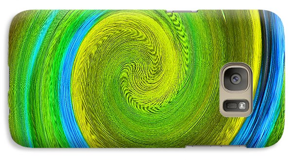 Galaxy Case featuring the photograph Avian Swirl 2 by Margaret Saheed
