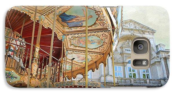 Galaxy Case featuring the photograph Avignon Carousel by Karen Lynch