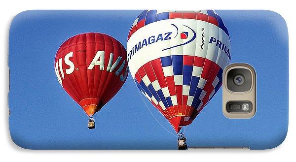 Galaxy Case featuring the photograph Avis Balloon by John Swartz