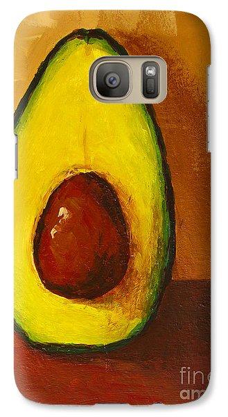 Avocado Palta 7 - Modern Art Galaxy S7 Case