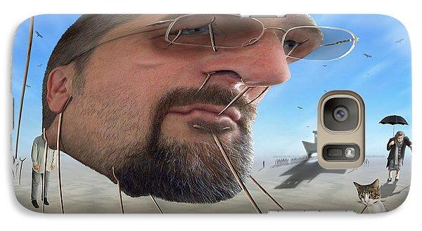 Buzzard Galaxy S7 Case - Awake . . A Sad Existence by Mike McGlothlen