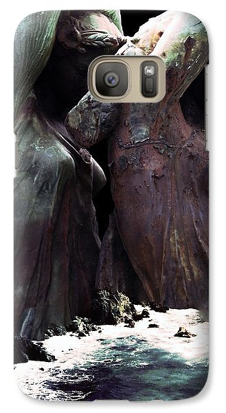 Galaxy Case featuring the photograph Awake By The Sea by Steve Godleski