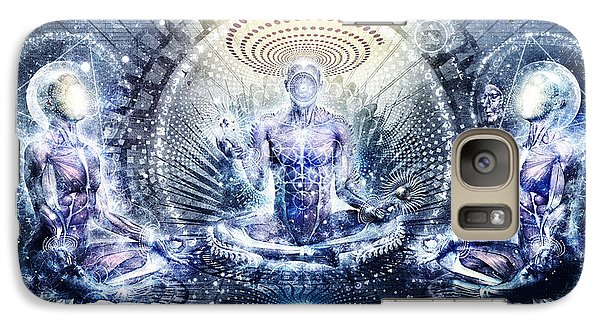 Awake Could Be So Beautiful Galaxy Case by Cameron Gray