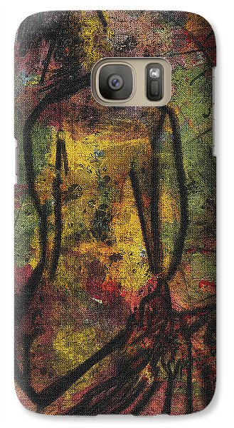 Galaxy Case featuring the digital art Awake I Dream by Shelley Bain