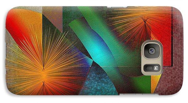Galaxy Case featuring the digital art Awake by Iris Gelbart