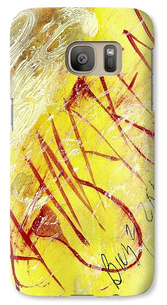 Galaxy Case featuring the painting Awaken 2013 by Lesley Fletcher
