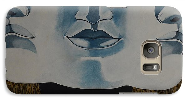 Galaxy Case featuring the painting Awaken To All Who Dwell Inside by Stuart Engel