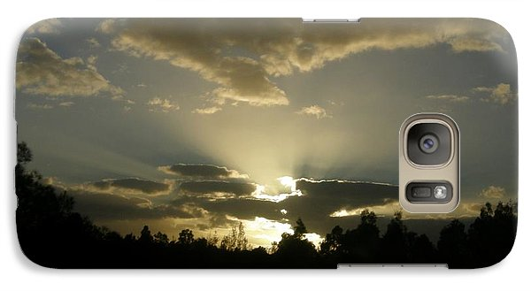 Galaxy Case featuring the photograph Awakening by Bev Conover