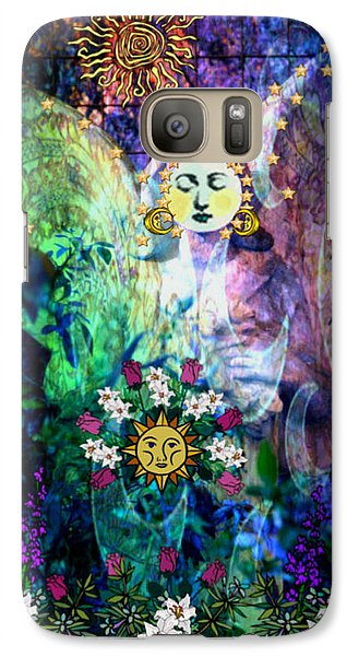 Galaxy Case featuring the digital art Awakening by Mary Anne Ritchie