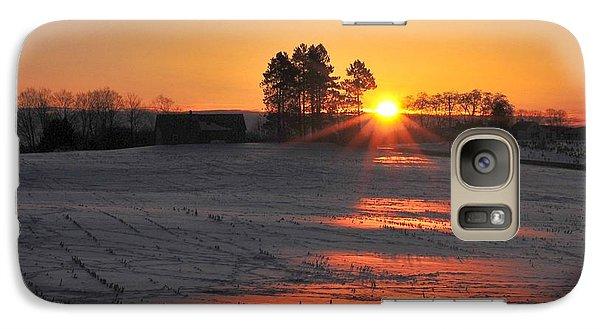 Galaxy Case featuring the photograph Awakening by Terri Gostola