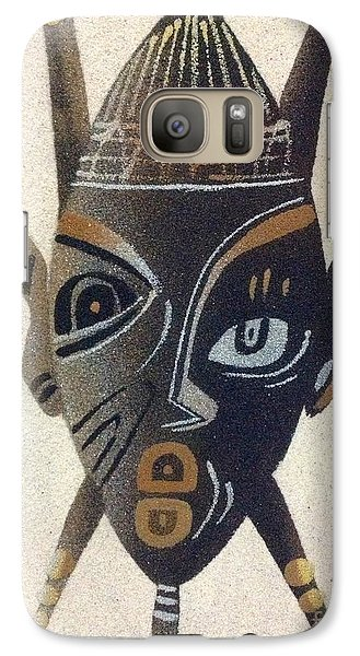 Galaxy Case featuring the photograph Awareness by Fania Simon