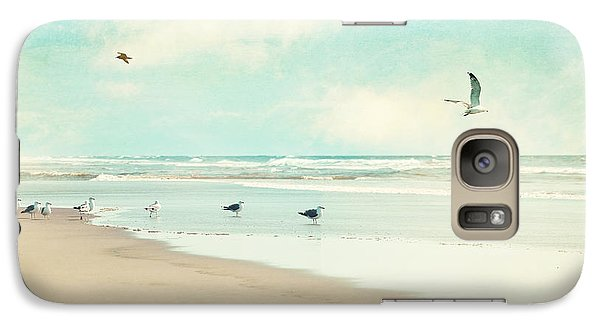 Galaxy Case featuring the photograph Away We Go by Sylvia Cook