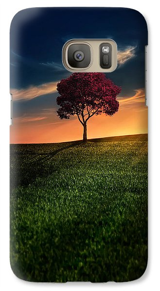 Awesome Solitude Galaxy S7 Case by Bess Hamiti
