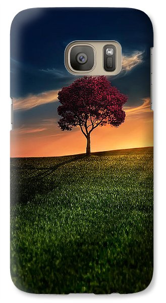 Galaxy Case featuring the photograph Awesome Solitude by Bess Hamiti