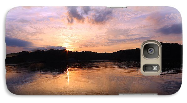 Galaxy Case featuring the photograph Awesome Sunset by Lorna Rogers Photography