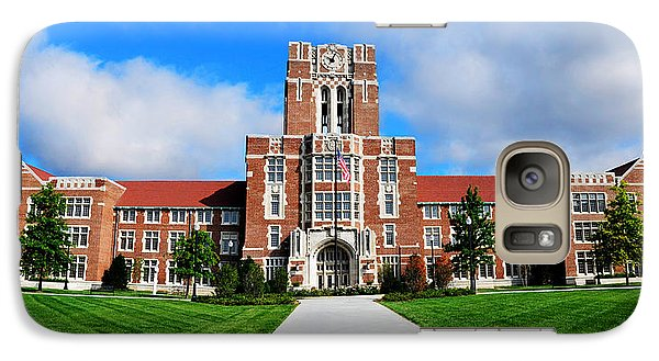 Galaxy Case featuring the photograph Ayres Hall by Paul Mashburn