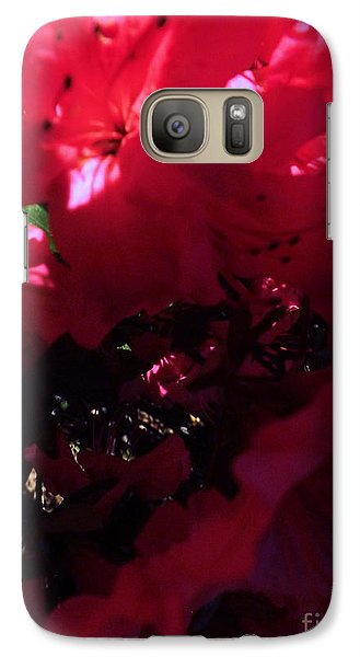Galaxy Case featuring the photograph Azalea Abstract by Robyn King