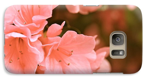 Galaxy Case featuring the photograph Azalea Victorian by Cathy Dee Janes
