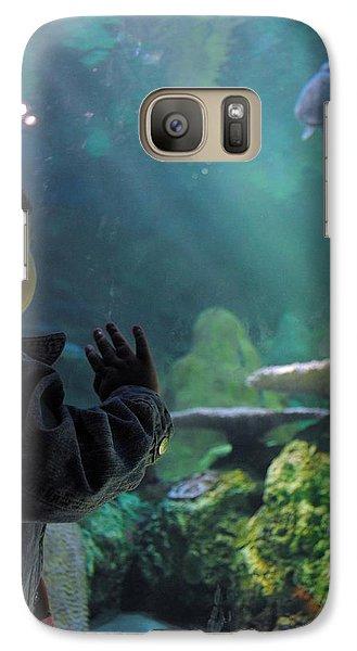 Galaxy Case featuring the photograph Azlinn Turtle Tank by Amanda Eberly-Kudamik