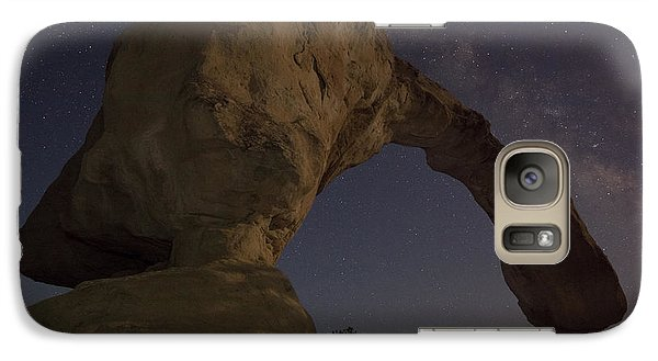 Galaxy Case featuring the photograph Aztec Arch by Keith Kapple