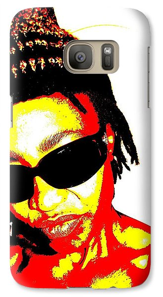Galaxy Case featuring the photograph B Gyrl by Cleaster Cotton