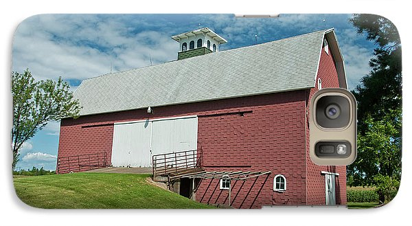 Galaxy Case featuring the photograph Babcock Barn 2263 by Guy Whiteley