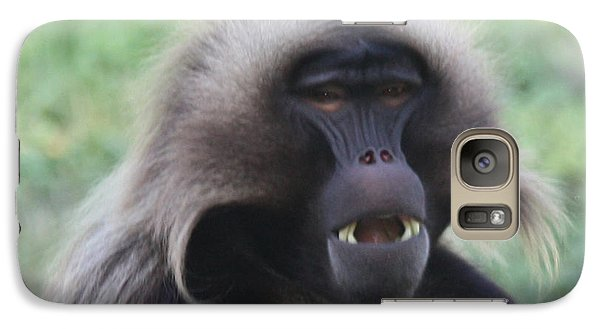 Galaxy Case featuring the photograph Baboon by John Telfer